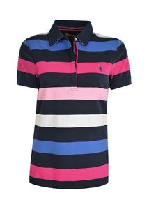 WMNS TRISH STRIPE S/S POLO
