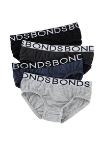 BONDS 4 Pack Brief Boys
