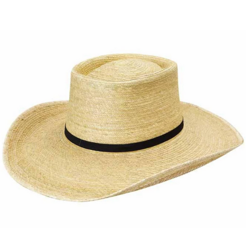 SUNBODY HAT OAK BOX TOP 4 INCH BRIM