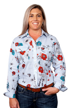 Load image into Gallery viewer, WI20 JC WMS ABBEY FULL BUTTON PRINT WORKSHIRT