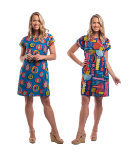 CATALONIA REVERSIBLE DRESS PRINT