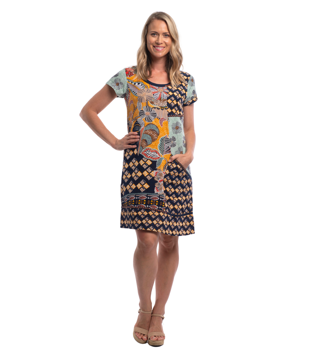 ANDALUCIA DRESS PRINT