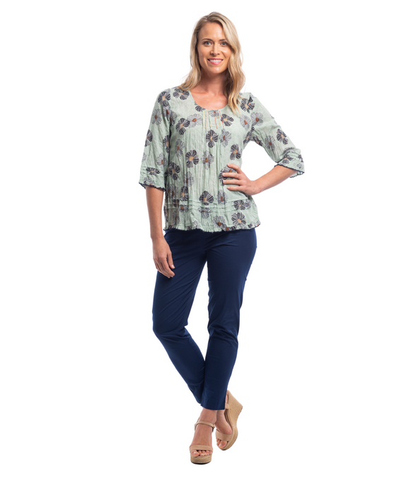 ANDALUCIA 3/4 PRINT TOP