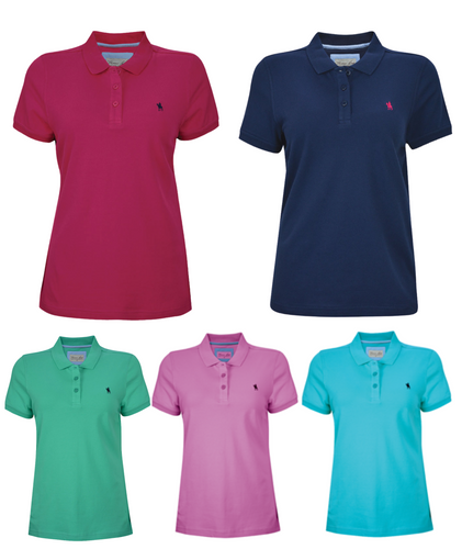 WMNS CLASSIC STRETCH S/S POLO