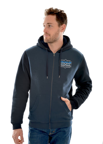 MENS JAMES ZIP UP HOODIE
