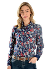 Load image into Gallery viewer, WMNS MACY PRINT L/S SHIRT