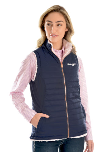 WMNS AMY REVERSIBLE QUILTED VEST
