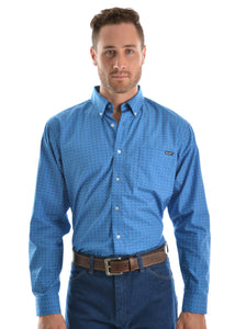 MENS WARWICK PRINTBUTTON DOWN LS SHIRT