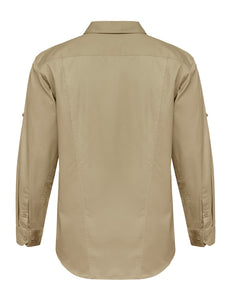 L/SL VENTED SHIRT