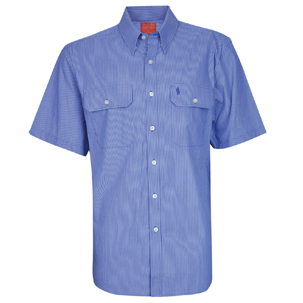 MENS GRAFTON STRIPE 2-PKT S/S SHIRT