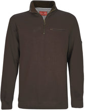 Load image into Gallery viewer, MENS MURRAY 1/4 ZIPNECK 1-PKT L/S TOP