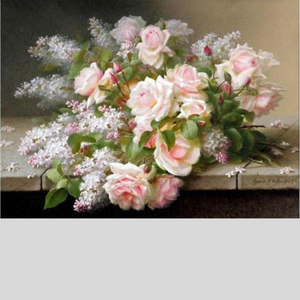 WEDDING ROSES Diamond Painting Kit - DAZZLE CRAFTER