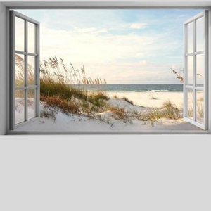 WINDOW SEA VISTA Diamond Painting Kit - DAZZLE CRAFTER
