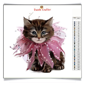 HER HIGHNESS KITTY Diamond Painting Kit - DAZZLE CRAFTER