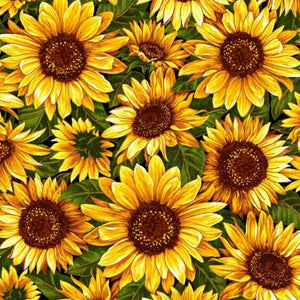 BRIGHT SUNFLOWERS Diamond Painting Kit - DAZZLE CRAFTER