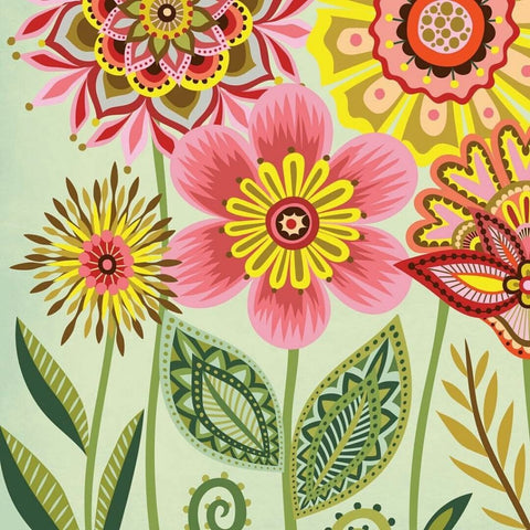 Image of FLOWER PRINT Diamond Painting Kit - DAZZLE CRAFTER