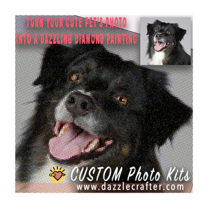 CUSTOM PHOTO Diamond Painting Kit [ PETS ]
