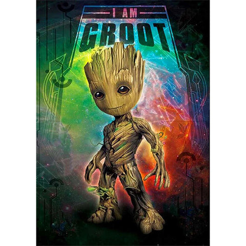 THE GROOT  Diamond Painting Kit