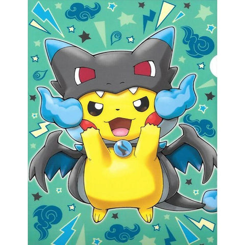 PIKACHU PLAYING MONSTER Diamond Painting Kit