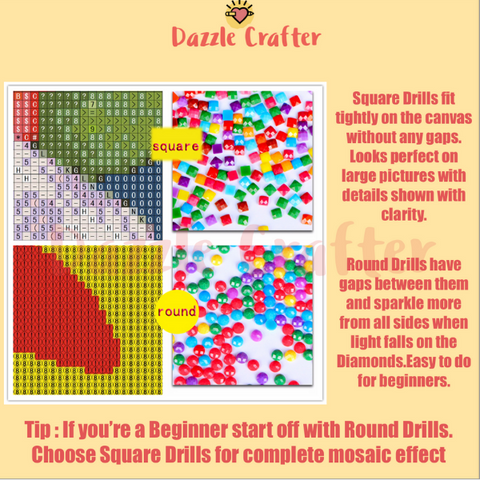 Image of LOVELY LASS Diamond Painting Kit - DAZZLE CRAFTER