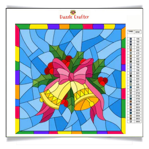 Image of CHRISTMAS BELLS Diamond Painting Kit