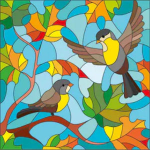 SINGING SPARROWS Diamond Painting Kit - DAZZLE CRAFTER