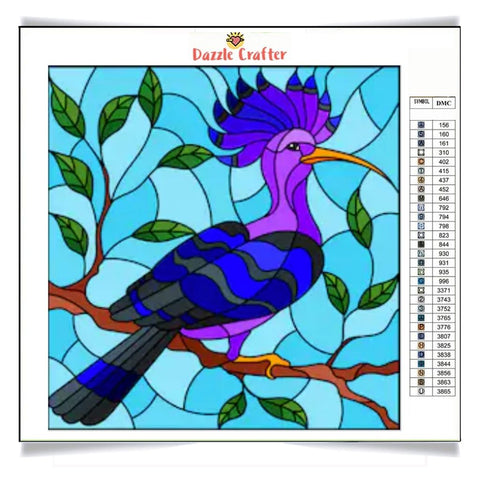 BLUE BIRD Diamond Painting Kit - DAZZLE CRAFTER