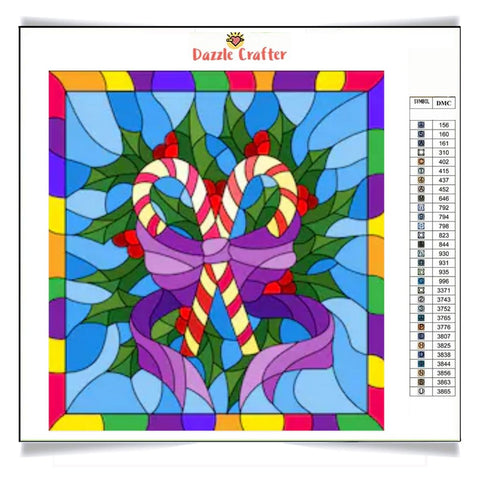 Image of PEPPERMINT  STICK Diamond Painting Kit