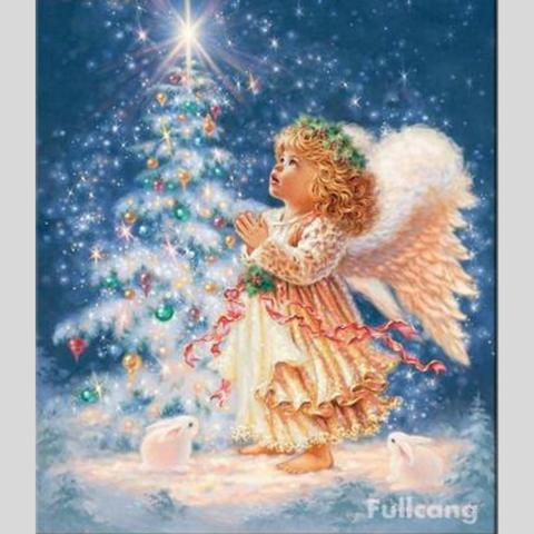 Image of BABY ANGEL Diamond Painting Kit - DAZZLE CRAFTER