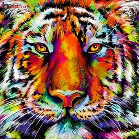 MAJESTIC TIGER Diamond Painting Kit - DAZZLE CRAFTER