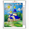 CHURCH MEADOW Diamond Painting Kit - DAZZLE CRAFTER
