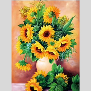 SUNFLOWER BEAUTY Diamond Painting Kit - DAZZLE CRAFTER