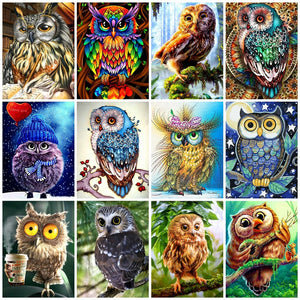 OWL SERIES - Diamond painting Kit