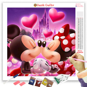 MICKEY AND MINNIE  Diamond Painting Kit
