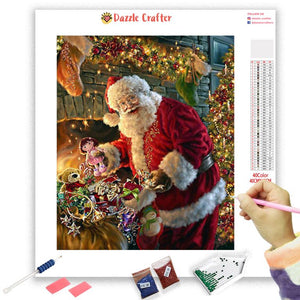 MEET ME UNDER THE MISTLETOE Diamond Painting Kit