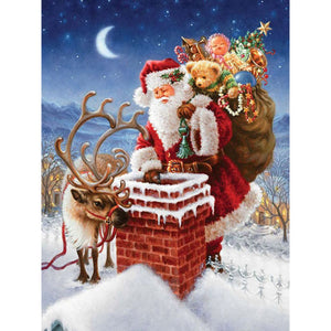 CHRISTMAS IN THE AIR Diamond Painting Kit