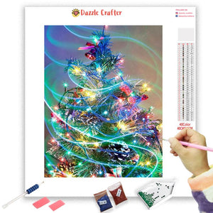 MERRY AND BRIGHT Diamond Painting Kit