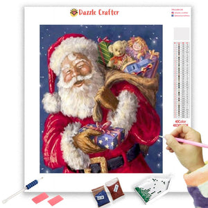 HO HO HO SANTA  Diamond Painting Kit