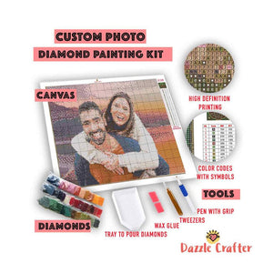 CUSTOM PHOTO - MAKE YOUR OWN DIAMOND PAINTING