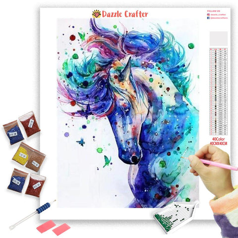 BEAUTIFUL HORSES SERIES Diamond Painting Kit