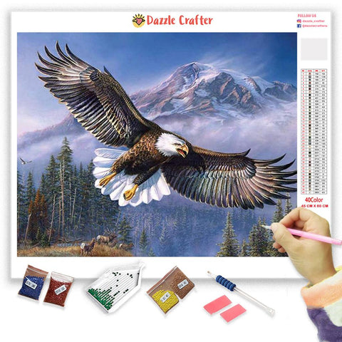 SOARING EAGLE Diamond Painting Kit