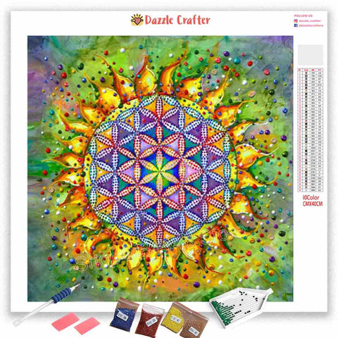 Image of MANDALA DESIGN 20 Diamond Painting Kit