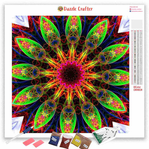 Image of MANDALA DESIGN 25 Diamond Painting Kit