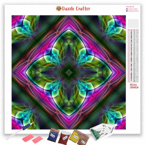 Image of MANDALA DESIGN 27 Diamond Painting Kit