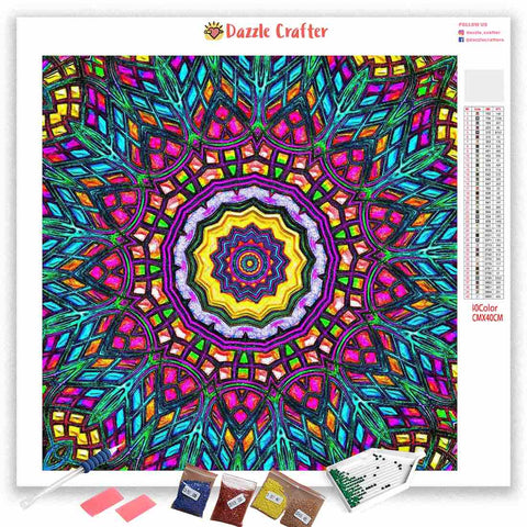 MANDALA DESIGN 28 Diamond Painting Kit
