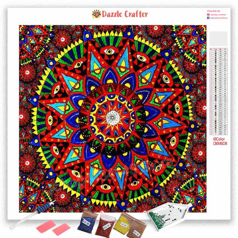 Image of MANDALA DESIGN 4 Diamond Painting Kit