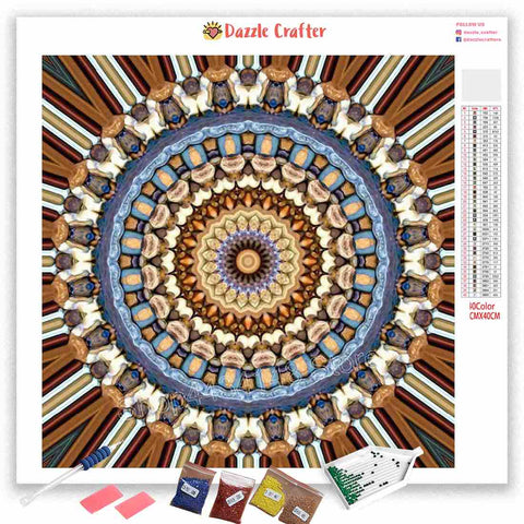 Image of MANDALA DESIGN 9 Diamond Painting Kit