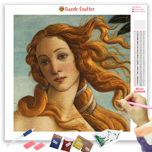 VENUS LOVE GODDESS VINTAGE Diamond Painting Kit