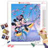 MICKEY IN PARIS Diamond Painting Kit