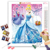 CINDERELLA AT THE BALL Diamond Painting Kit
